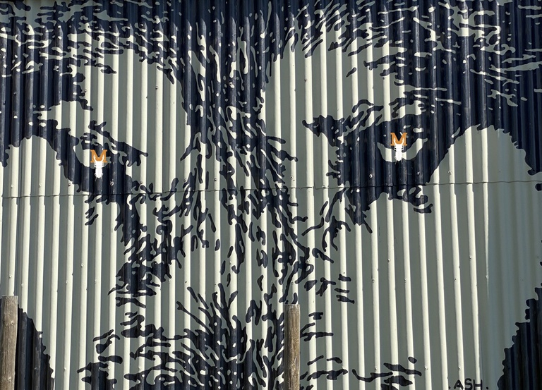 © Wolfskunst: • ASH • (Victor Ash) Street Artist, Stubnerkogel, Bad Gastein